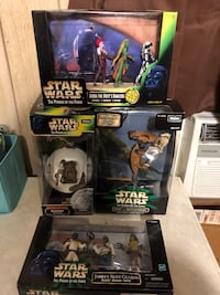 Star Wars Power Of Force Action Figures 4 Different Roselle Park, 07204