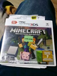 Minecraft 3Ds game case Commack, 11725