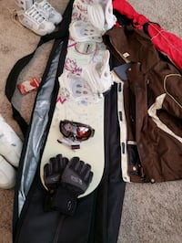 SNOW BOARD , BOOTS, GOGGLES, JACKETS, GLOVES,  AND REGULAR SNOW BOOTS Zephyrhills, 33540