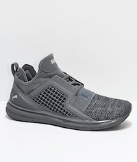 Puma IGNITE Limitless Knit Gray Shoes Men's 11 Washington, 20011