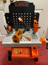 Kids tool bench with tools and accessories black + decker Chantilly, 20151