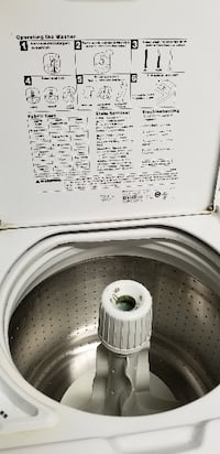 white top-load washing machine Orlando