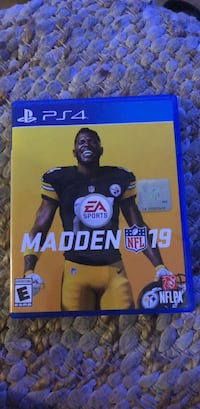 Ea sports madden nfl 18 ps4 game case Palmetto, 34221