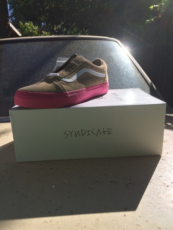 c798687eccf8 Used Vans Syndicate Old Skool Pro