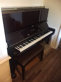 Schafer and sons upright mahogany piano Los Angeles, 91316