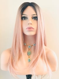 Very Pretty Pearl Pink Wig for Everyday or The Holidays  Calgary, T2P