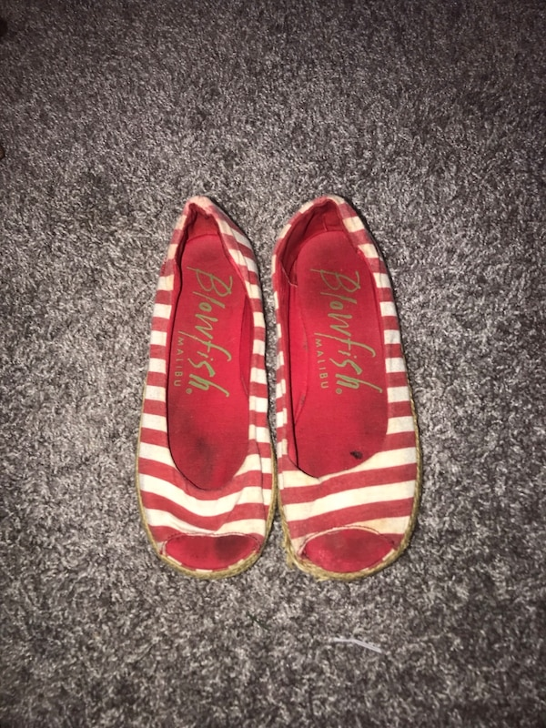 04e9e8ac75a61 Used pair of brown-and-white slip on shoes for sale in Stoneville - letgo