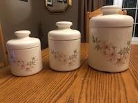 SET OF 3 CANISTERS  North Dumfries