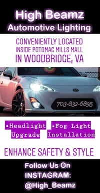 Automotive LED & HID Upgrades Woodbridge, 22192