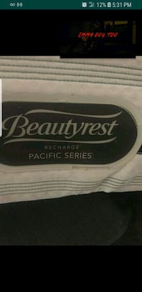black and white Beautyrest mattress Bakersfield, 93301
