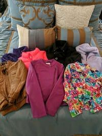 Girls' Size 5/6/6x Jackets Assorted Lot
