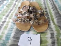 pair of brown leather sandals Berea