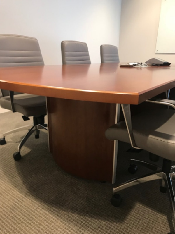 Office Furniture For Sale - Conference Table and Chairs - $3200