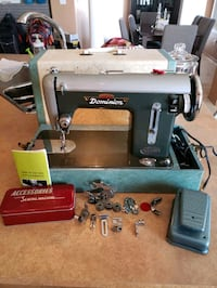Vintage Dominion Deluxe Sewing Machine