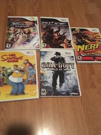 Wii Games and accessories Amherstburg, N9V 3W6
