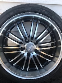 I have 4 tires and rims for sale 18 for $600 LYNBROOK