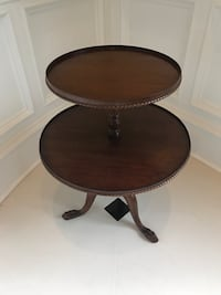 Antique tripod 2 Tier serving table Columbia, 29045