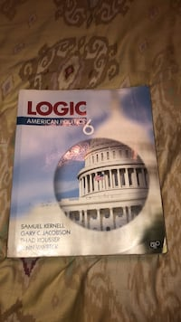 Book: Logic of American Politics Valley Springs, 57068