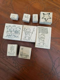 STAMPIN UP CUB SCOUT / BOY SCOUT STAMPS Monroe, 10950