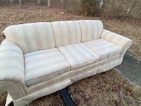 Set of 2 sofas really neat condition. First come first served ..