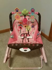 Fisher Price Vibrating Baby Chair Fort Riley, 66442
