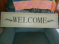 Welcome sign  Stafford, 22554