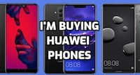 i will buy all huawei phones (p30 pro, mate 20 pro, p20 pro, etc.) Toronto Division