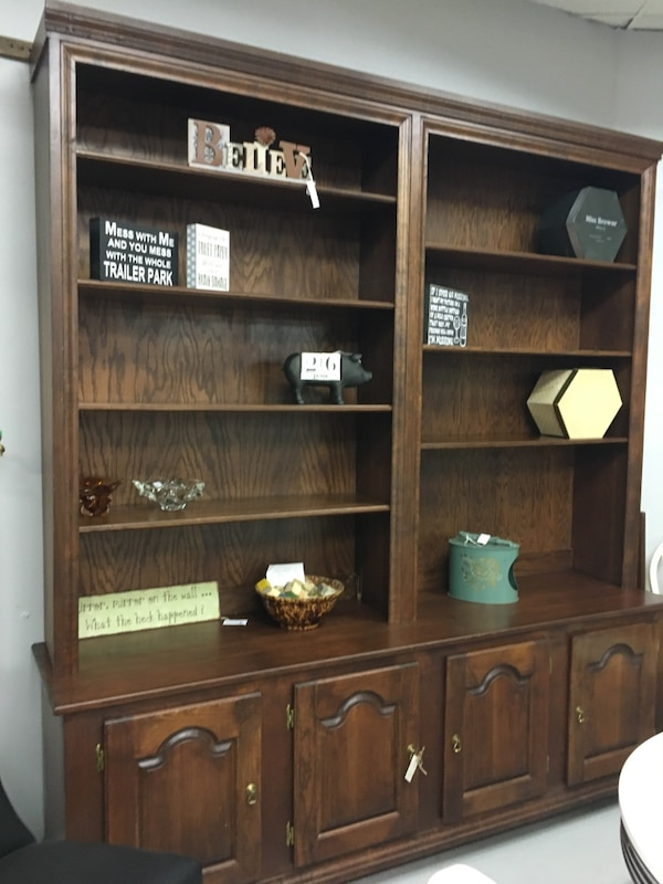 Solid Wooden Extra Large Wall Unit