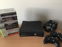 XBox 360 with Games and Controllers London