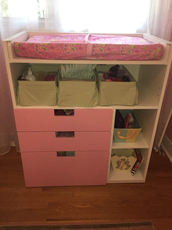 Used Ikea Stuva Fritids Changing Table Langer Changer For Sale In