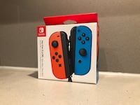 Nintendo Switch Joy-Cons - Red and Blue VANCOUVER