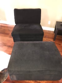 Chaise, chair & side tables