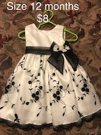 Baby girl dresses size 12 months Edinburg, 78542