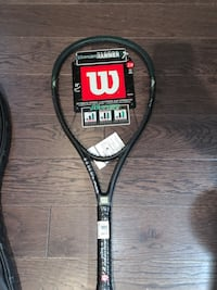 black and red Wilson tennis racket Markham, L3R 6L6
