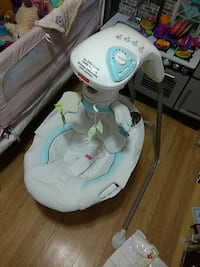 Fisher-Price white and blue cradle 'n swing St. John's, A1E 5N8