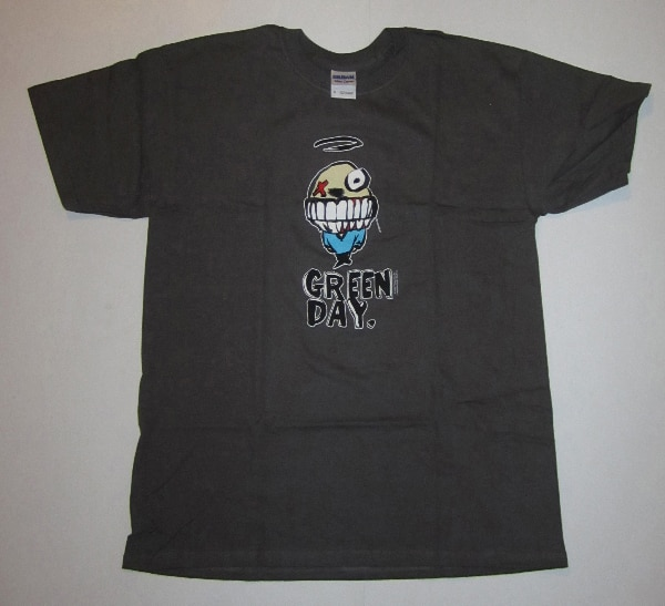 GREEN DAY GRIN T-SHIRT FROM 2000, PUNK ROCK