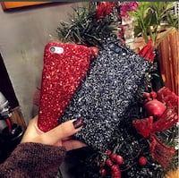 Glitter sequins phone case