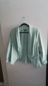 Brand new Mint Green Torrid blazer  Kitchener, N2K 3R6