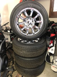 BRAND NEW GMC YUKON wheels and tires Henderson, 89052