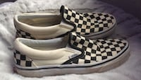 pair of white-and-black Vans sneakers Fairfax, 22031