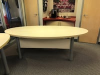 Large Oval Table  MONTREAL