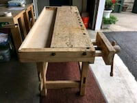Antique Workbench Table La Grange Highlands, 60525