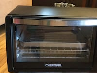 Black and gray Chefman toaster oven Germantown, 20876