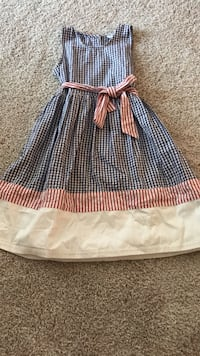 4th of jully dress CWD Kids Children 7-8 Clarksburg, 20871