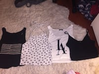 Four assorted brandy melville tops Coquitlam, V3E 2J1