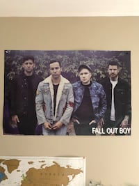 Fall out boy poster  Toronto, M6H 3G4
