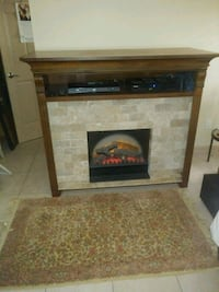 "elecric fire place with remote.49"" tall 57"" wide 2 Palm Coast"