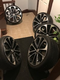 Set of 5 Wheels 20 inch HONDA ACCORD