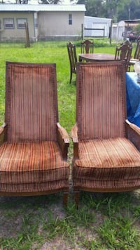 (2) High Back Accent Chairs Lake City, 32024