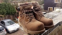 Women's 9.5 steel toe